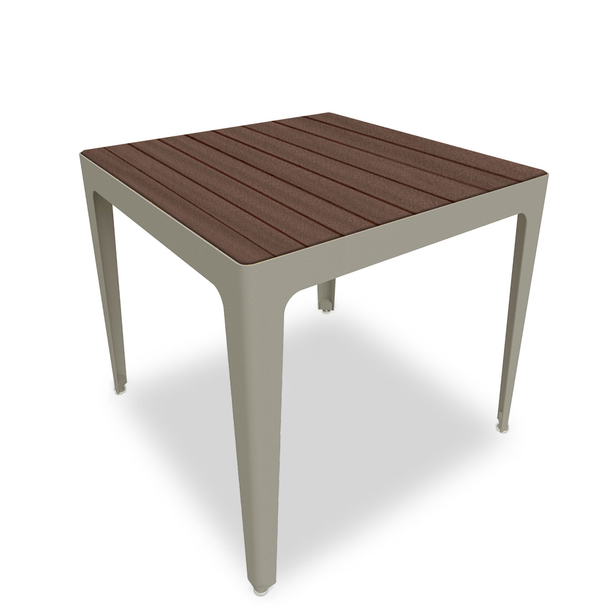 MIX2925R Mixx Collection Square Recycled Plastic Table