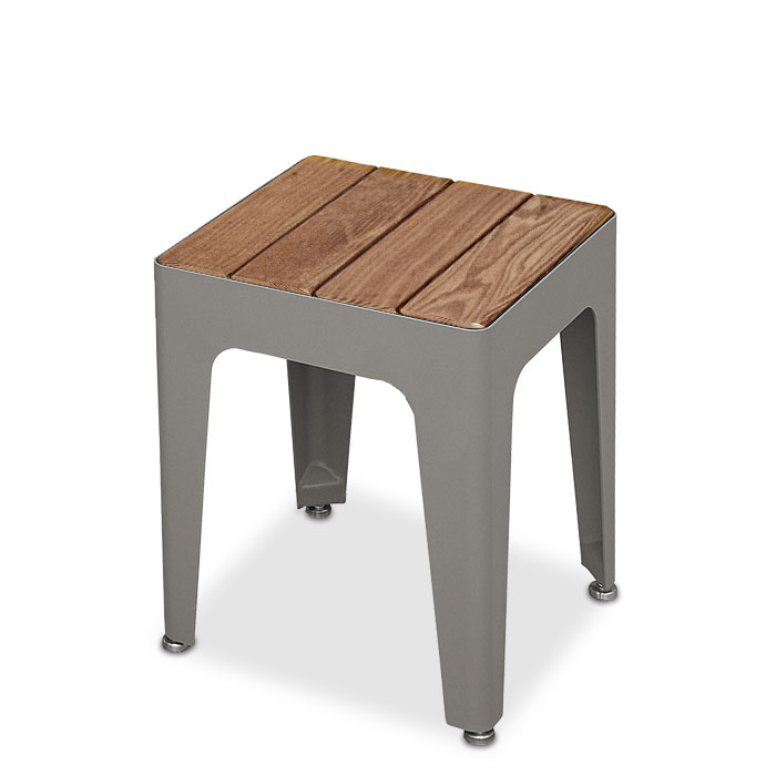 MIX2927T  Mixx Collection Thermory Slat Stool