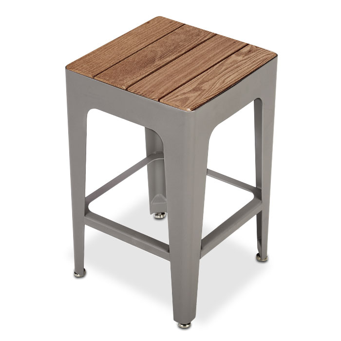 MIX2937T  Mixx Collection Thermory Slat Bar Height Stool