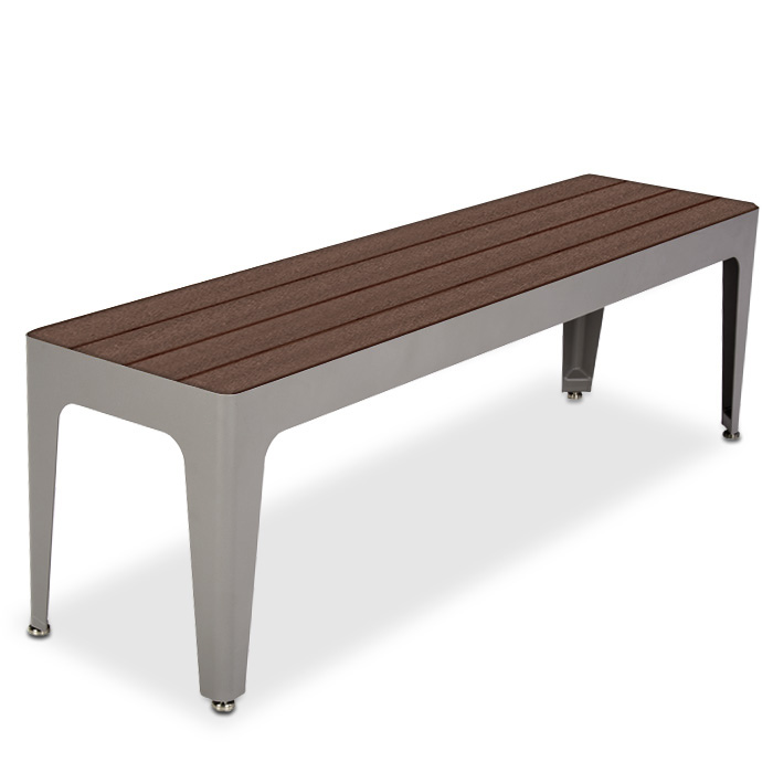 MIX2960R  Mixx Collection Recycled Plastic 5' Bench