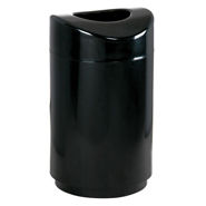 FGR2030 Eclipse Open Top Trash Receptacle with Powder Coat Finish