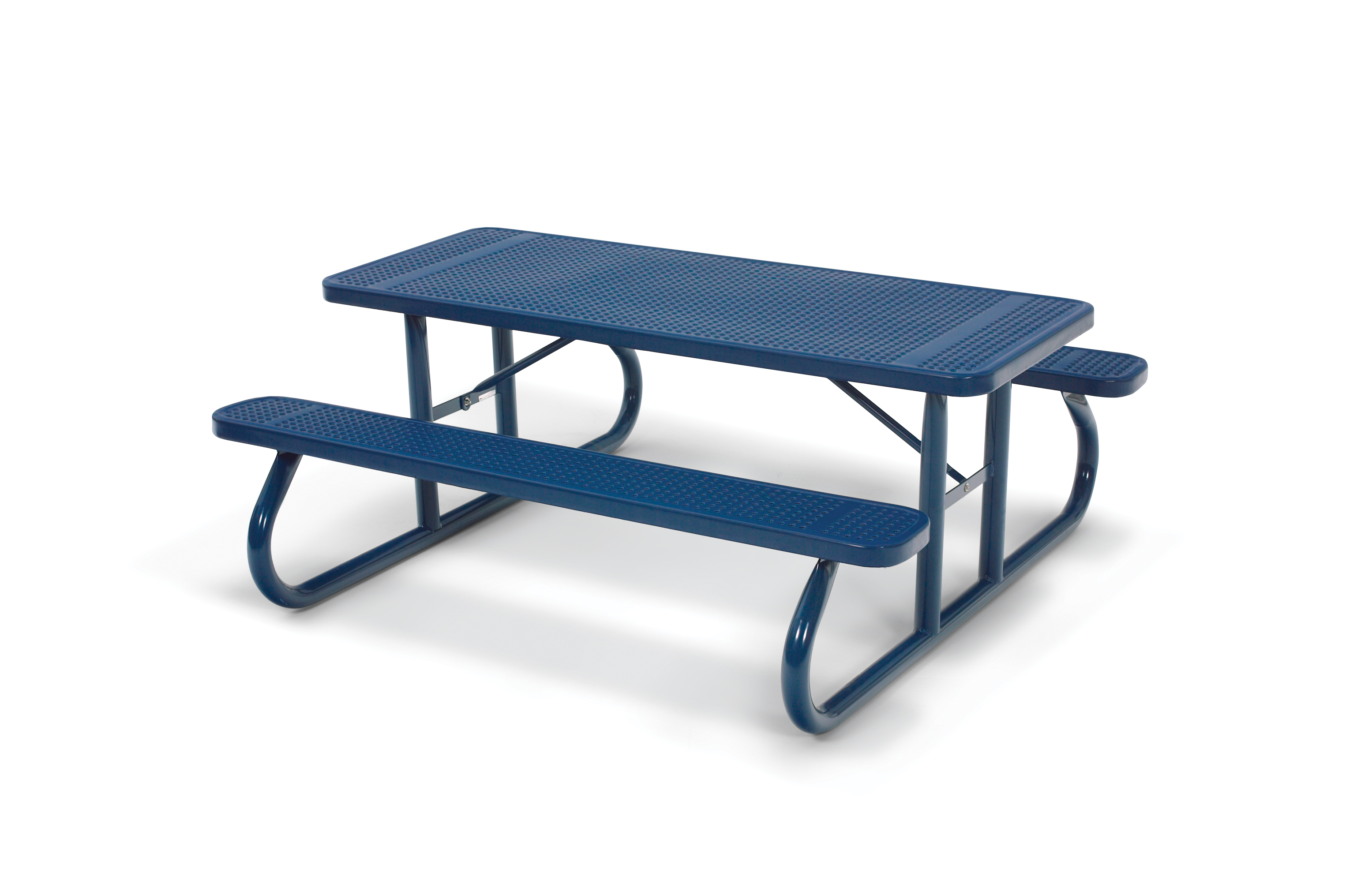 Signature Collection 6u0027 Rectangular Picnic Table With Light Duty Frame  (Portable)   Indoff Commercial Site Furnishings Discount Superstore