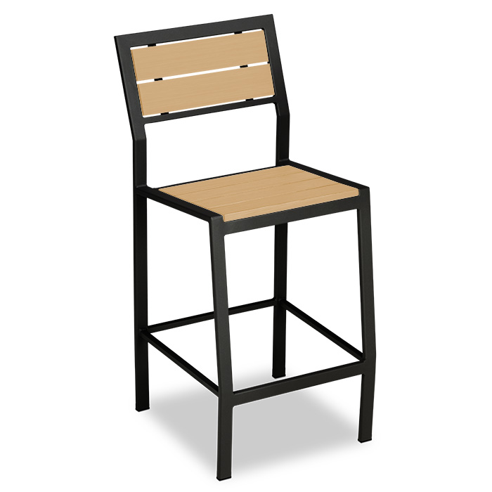 T2245R  Tuscany Recycled Plastic Bar Height Chair