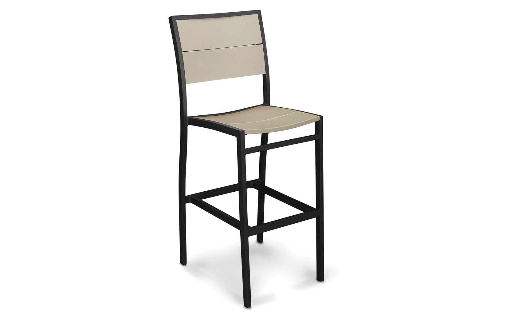 Fresco Collection Recycled Plastic Bar Side Chair