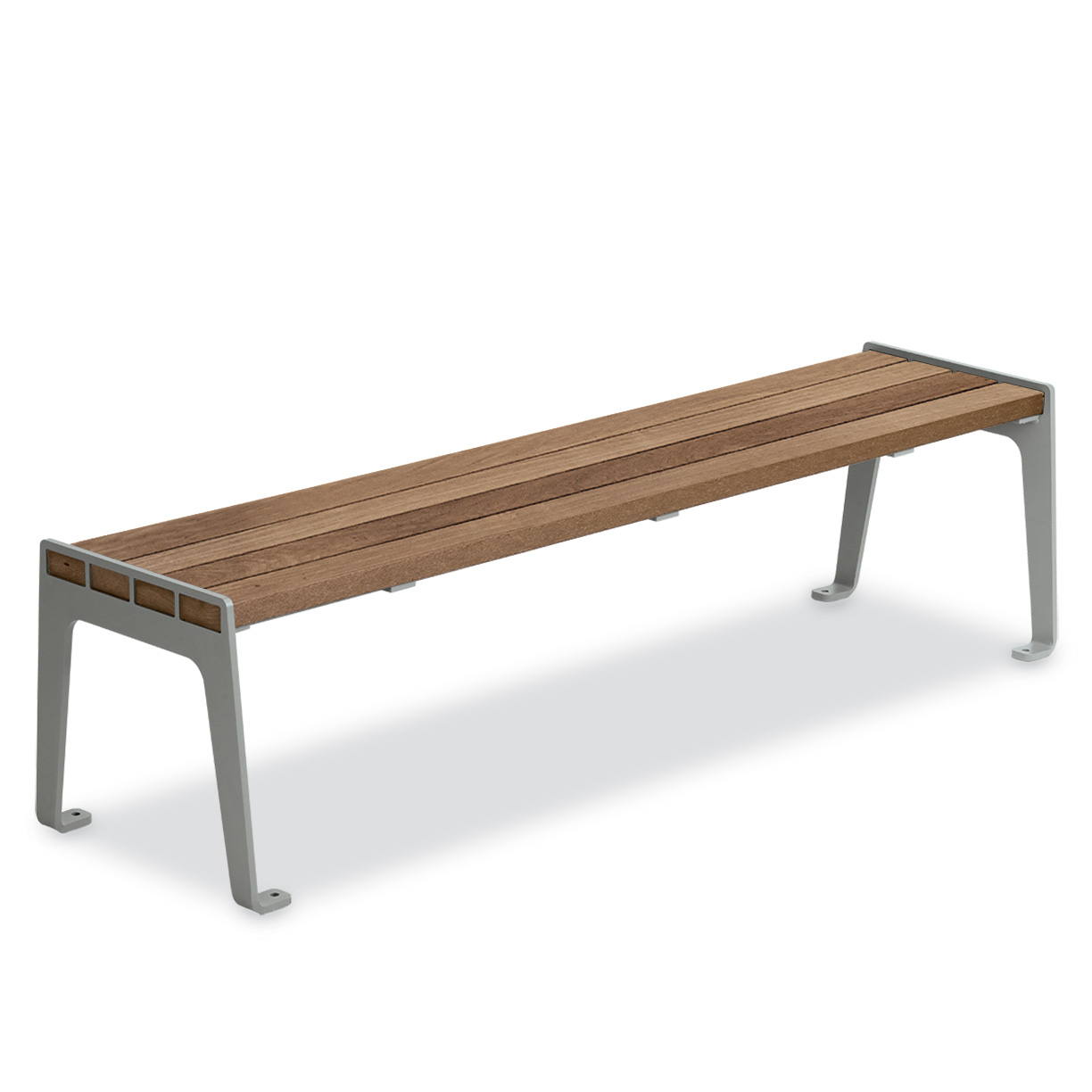 THMF6  Madison Collection Thermony Slat 6' Flat Bench