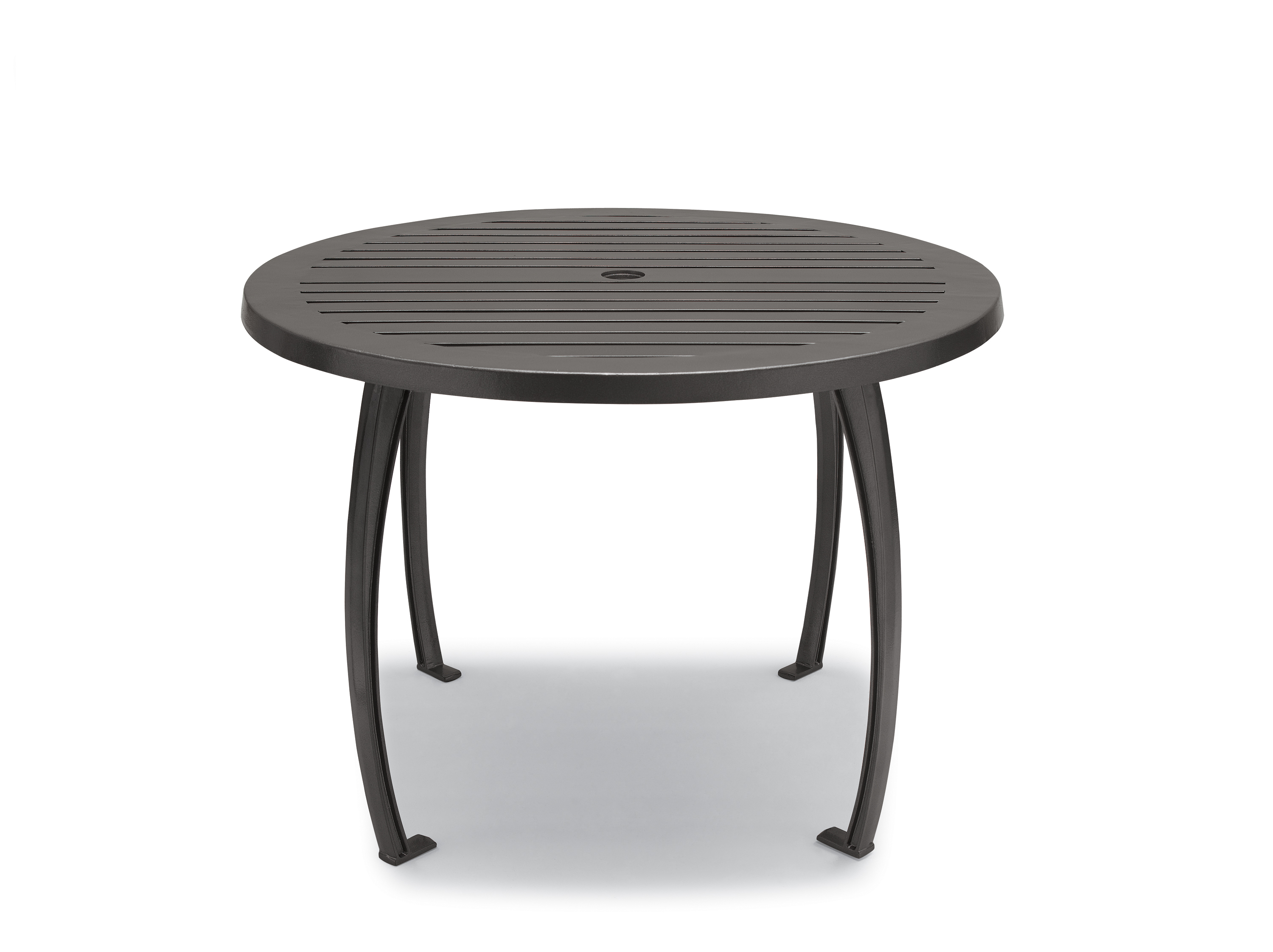 Winchester Collection 36 Quot Round Table With Horizontal Slat