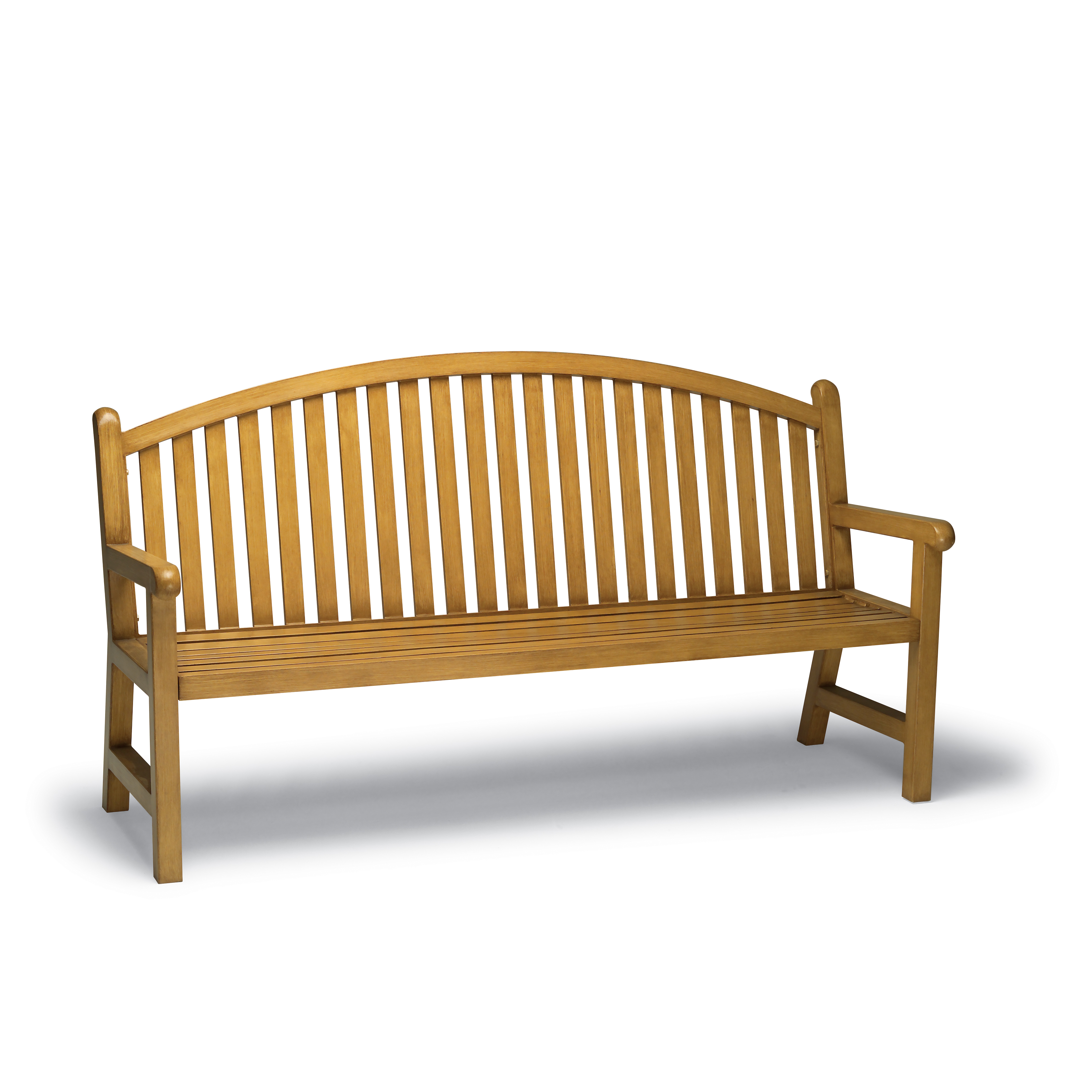 Yorktown Collection 6' Bench with Arched Back