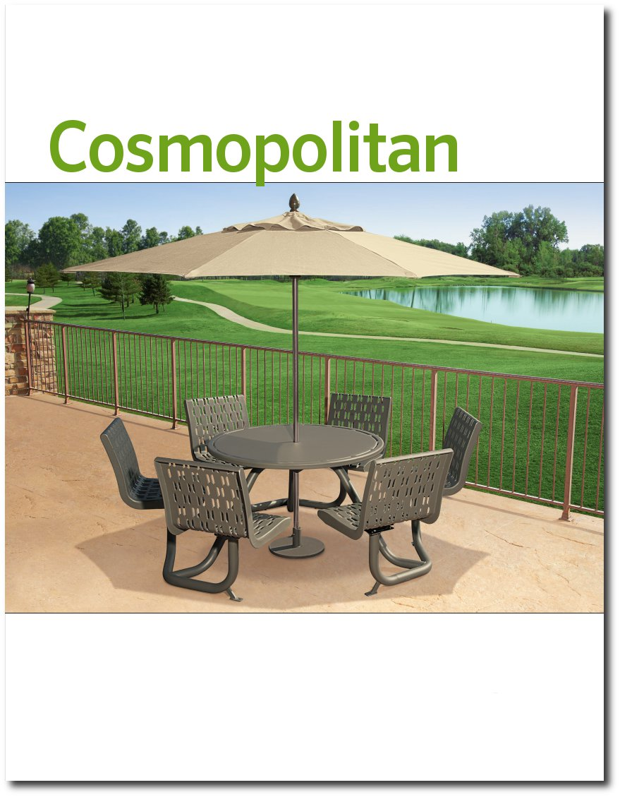Cosmopolitan Collection Brochure Cover