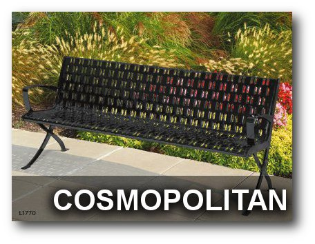 Cosmopolitan Collection Park Benches