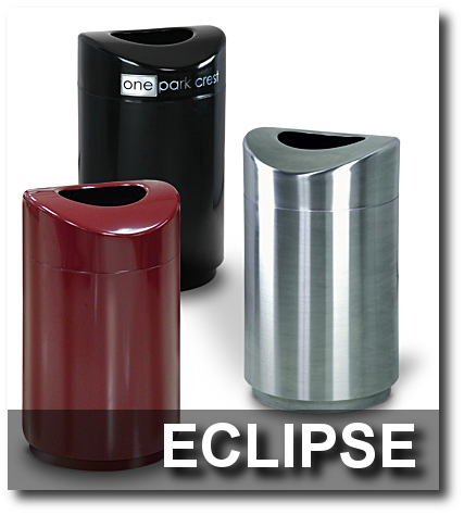 Eclipse Collection Trash Receptacles