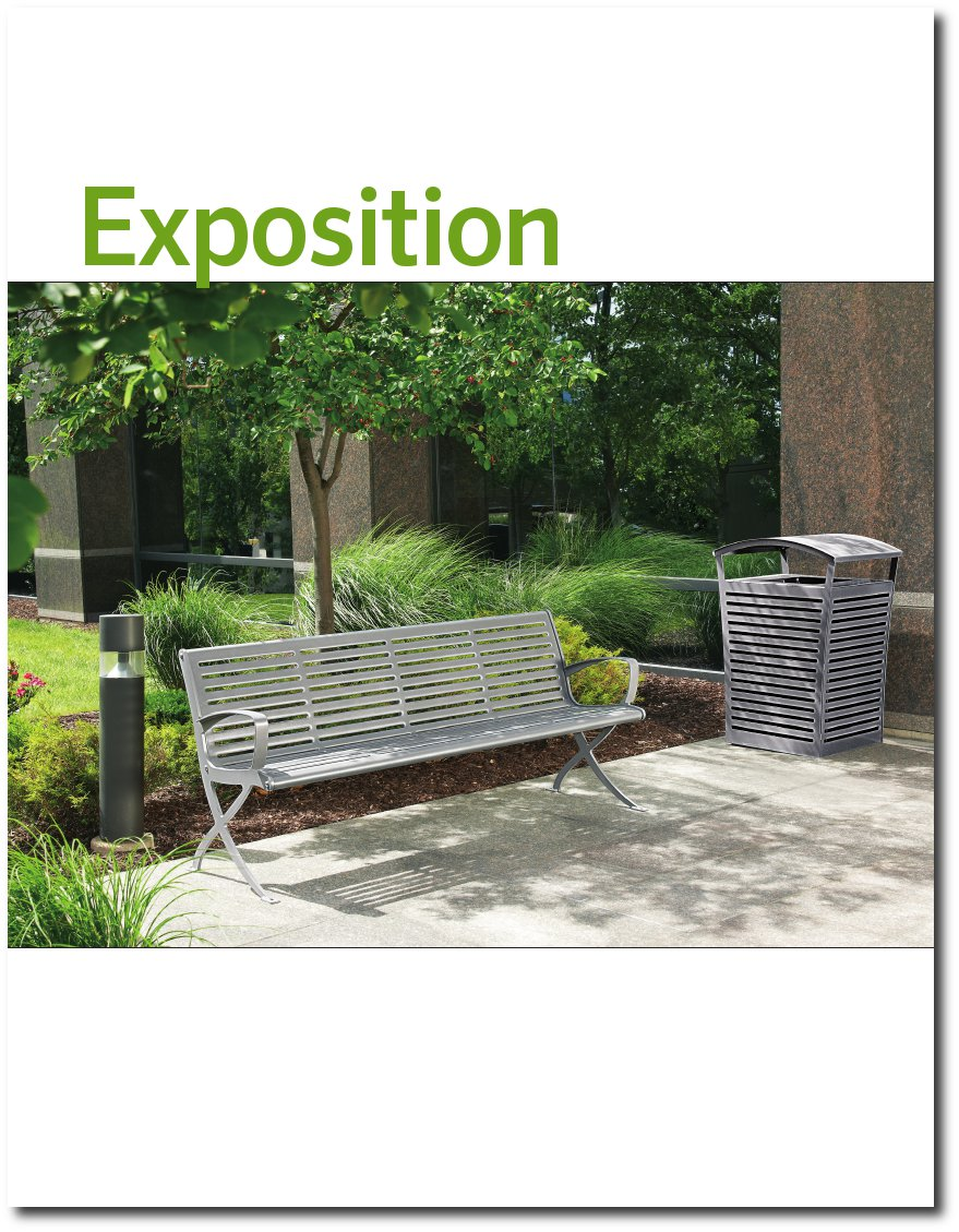 Exposition Collection Brochure Cover