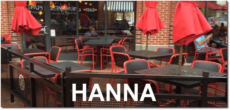 Hanna Collection Outdoor Cafe Dining Sets