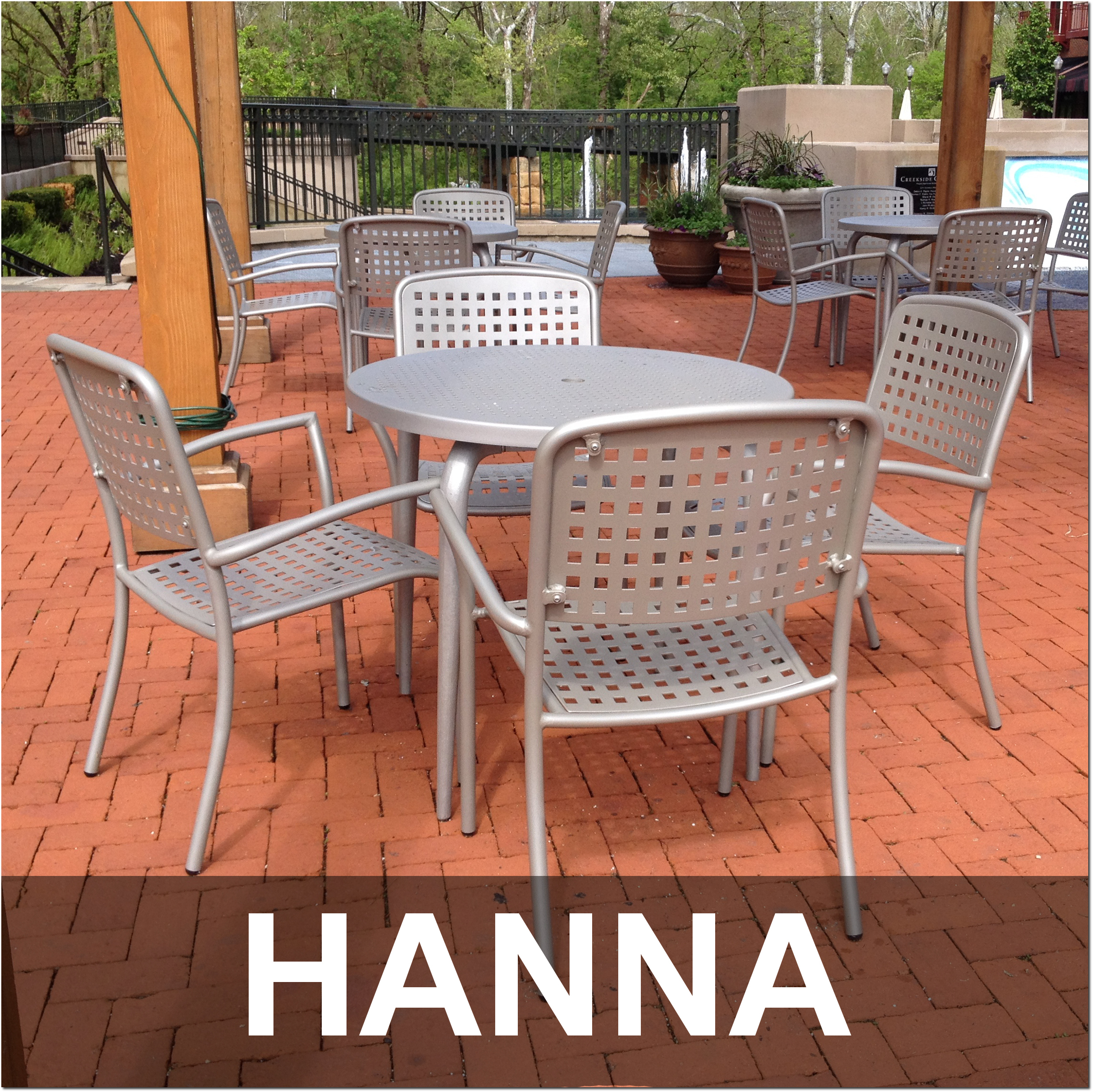 Hanna Collection Cafe Dining Sets