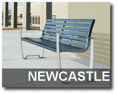 Newcastle Collection Park Bench