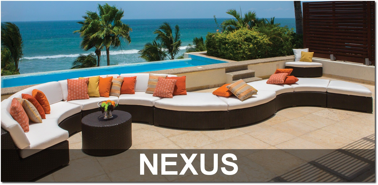 Nexus Collection Modular Pool Furniture