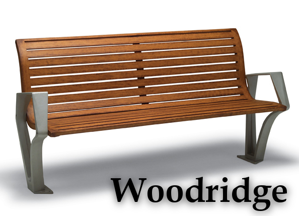 Woodridge Collection Park Benches