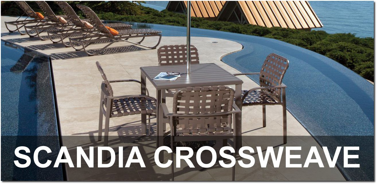 Scandia Sling Collection Outdoor Furnishings