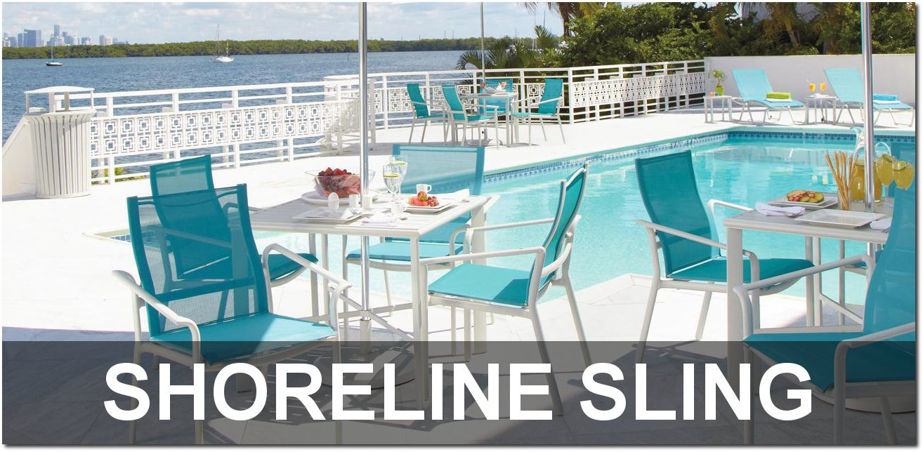 Shoreline Sling Collection Outdoor Furnishings