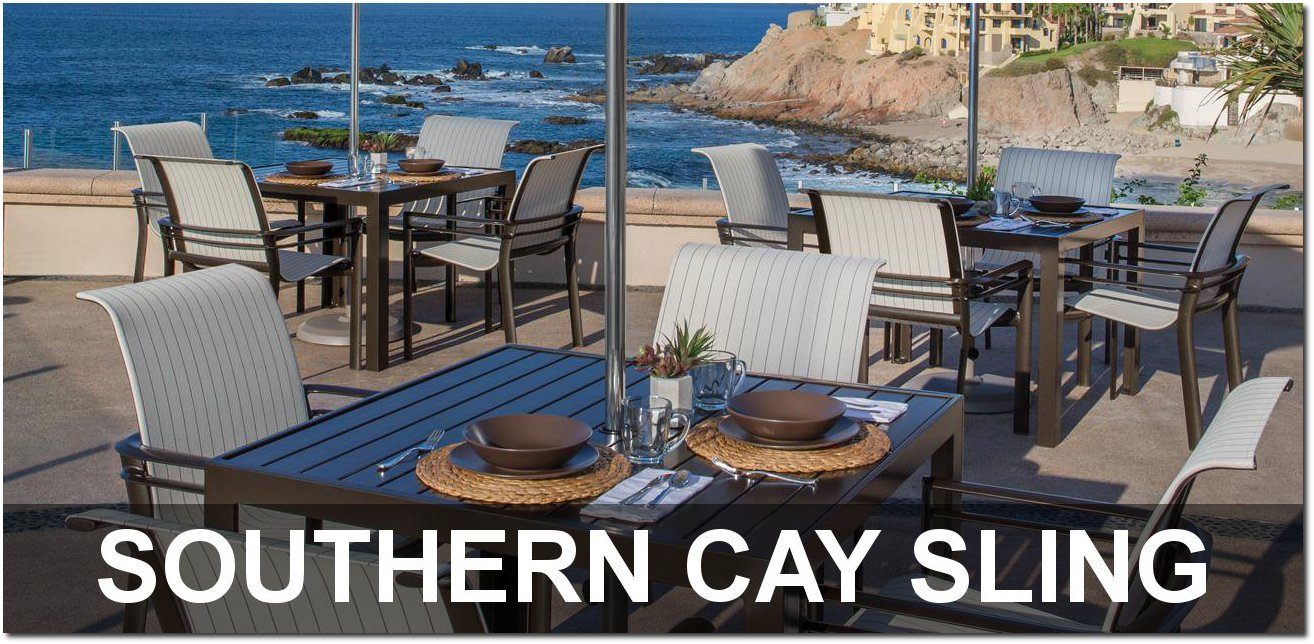 Southern Cay Sling Collection Poolside Furnishings
