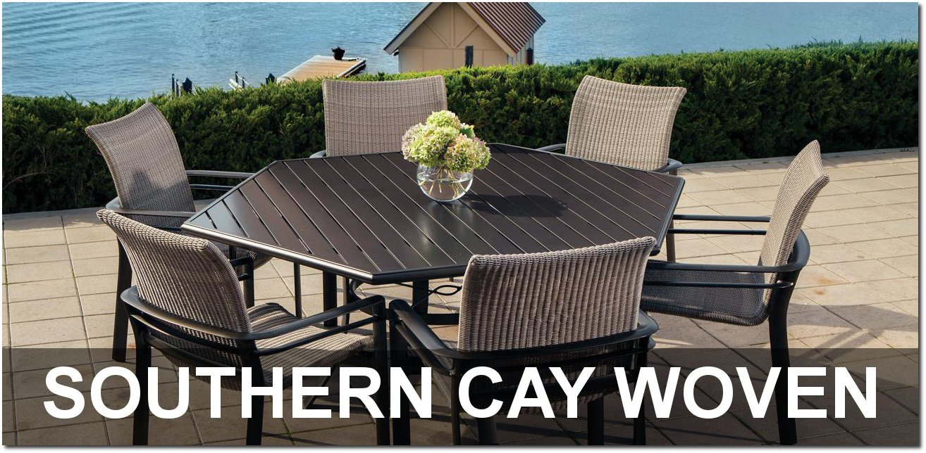 Southern Cay Woven Collection Outdoor Furnishings