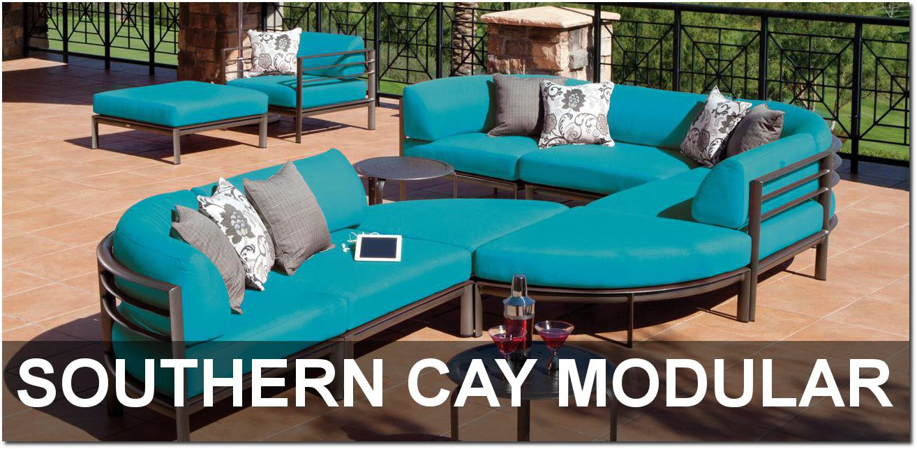 Southern Cay Modular Collection Outdoor Furnishings