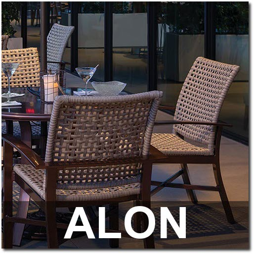 Alon Collection Upscale Outdoor Dining Sets