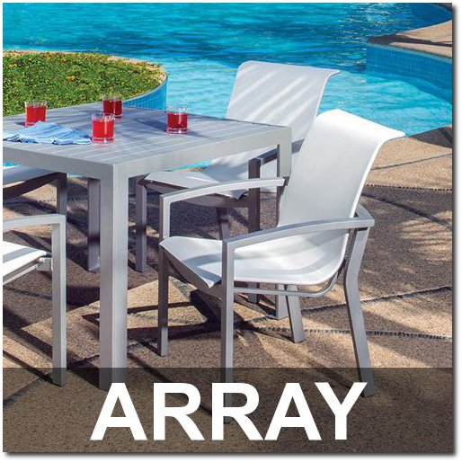 Array Collection Poolside Dining Sets
