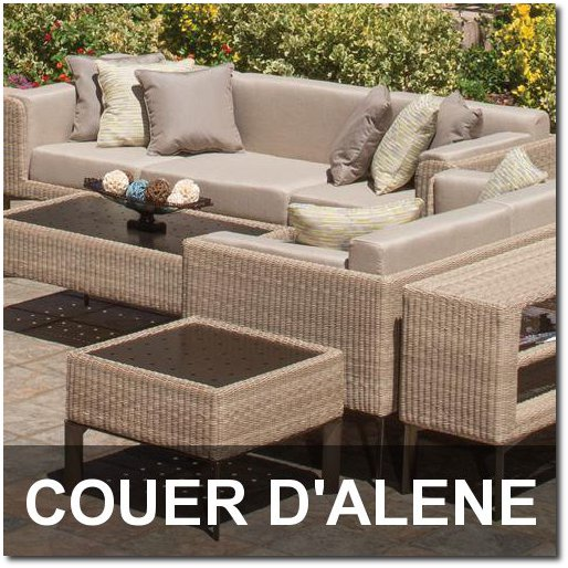Couer D'Alene Collection Outdoor Pool Furnishings