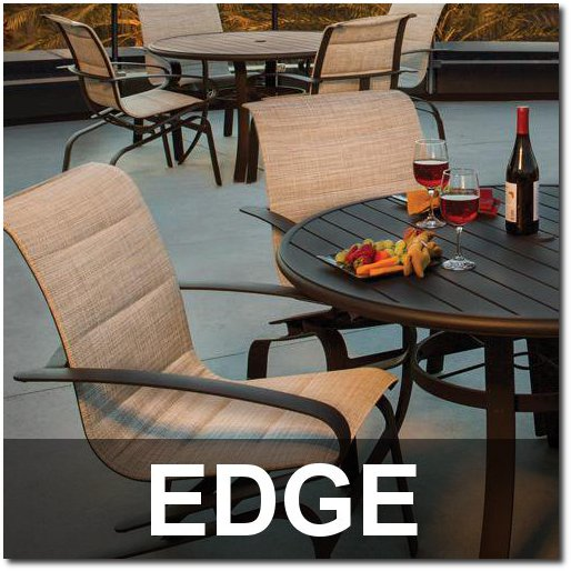Edge Collection Upscale Outdoor Dining Sets
