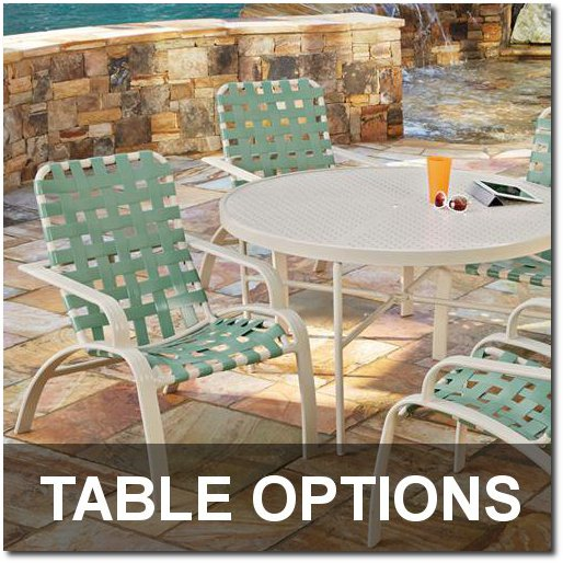 Evolution Collection Table Options