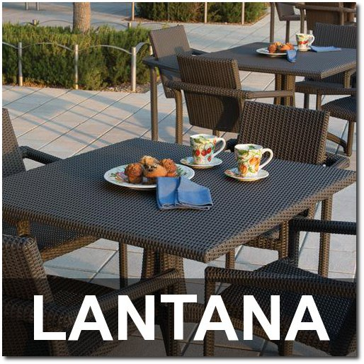 Lantana Collection Upscale Outdoor Dining Sets