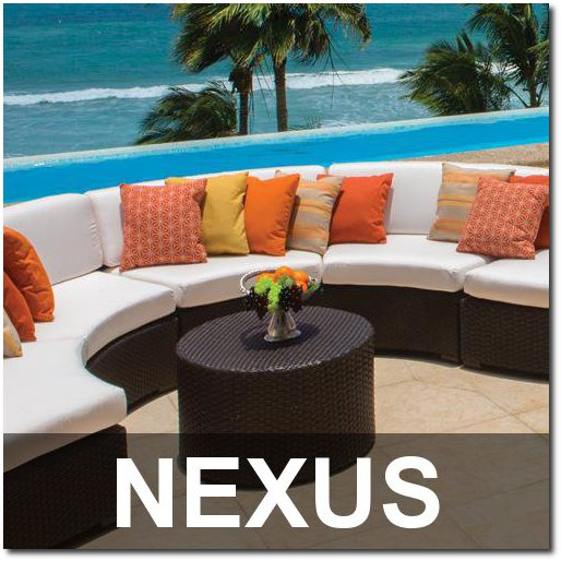 Nexus Collection Outdoor Pool Furnishings