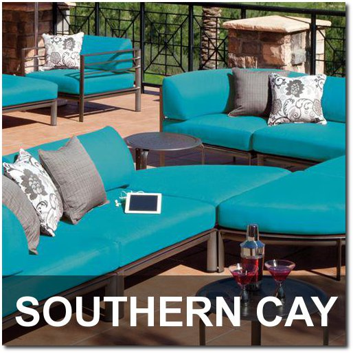 Southern Cay Collection Outdoor Pool Furnishings