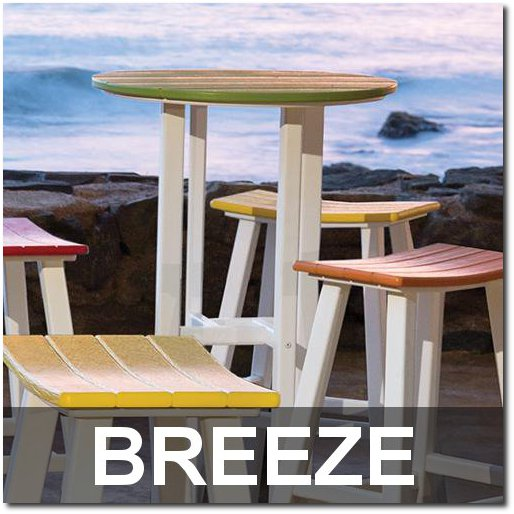 Breeze Collection Outdoor Bar Sets