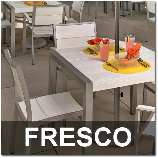 Fresco Collection Recycled Plastic Lumber Dining Sets