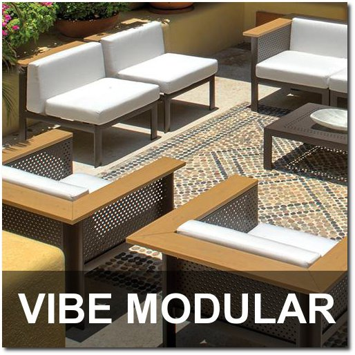 Vibe Modular Collection Outdoor Pool Furnishings
