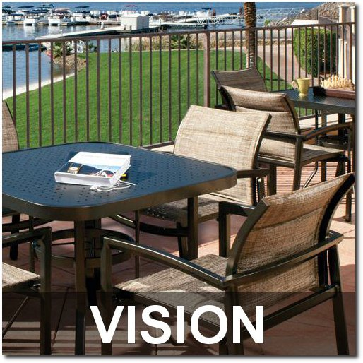 Vision Collection Upscale Dining Sets
