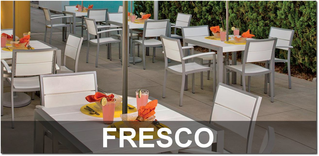 Fresco Collection Recycled Plastic Lumber Cafe Dining Sets