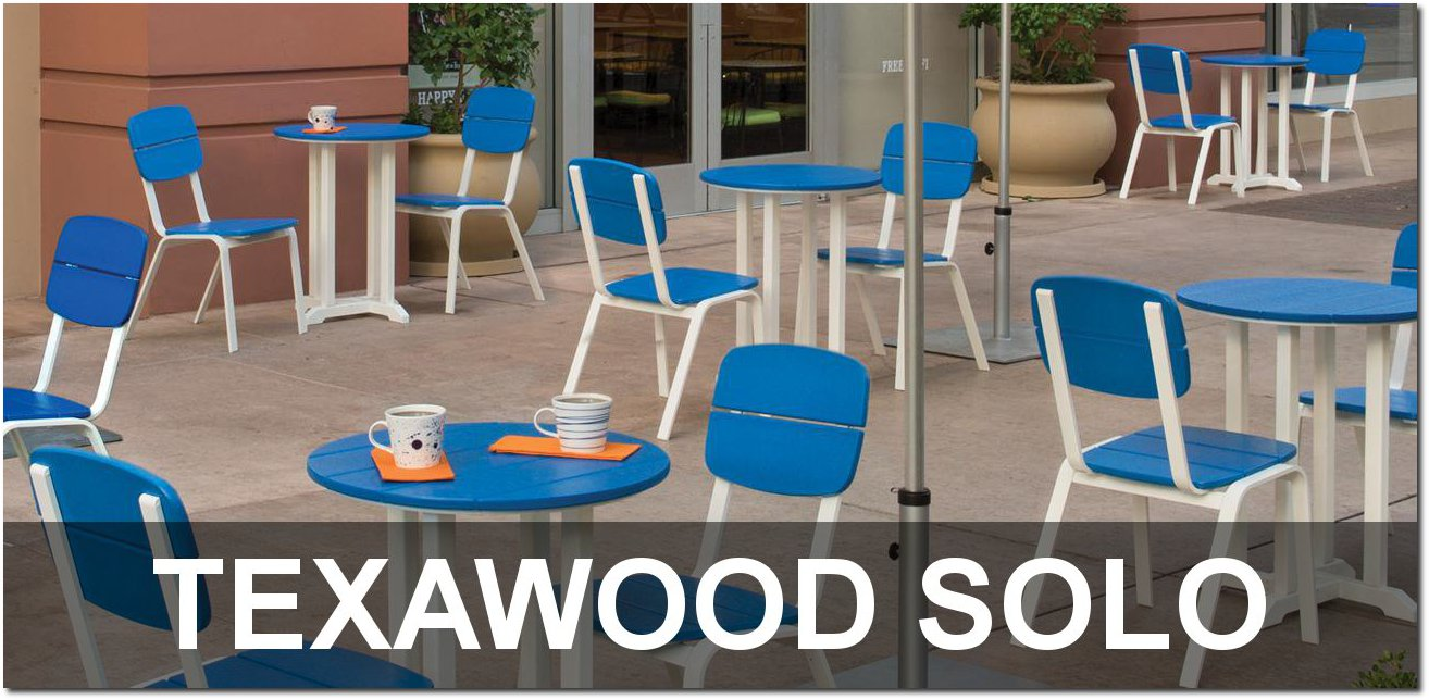 Texawood Solo Cafe Dining Sets