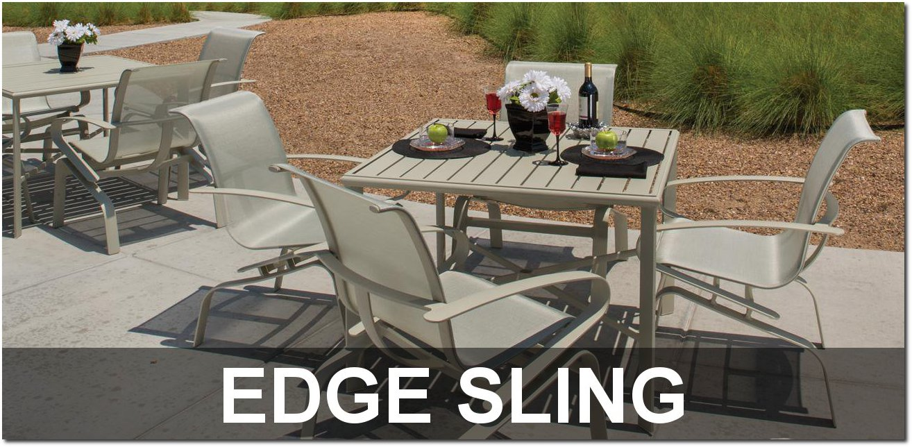 Edge Sling Collection Outdoor Furnishings