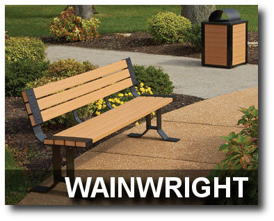 Wainwright Collection Park Benches