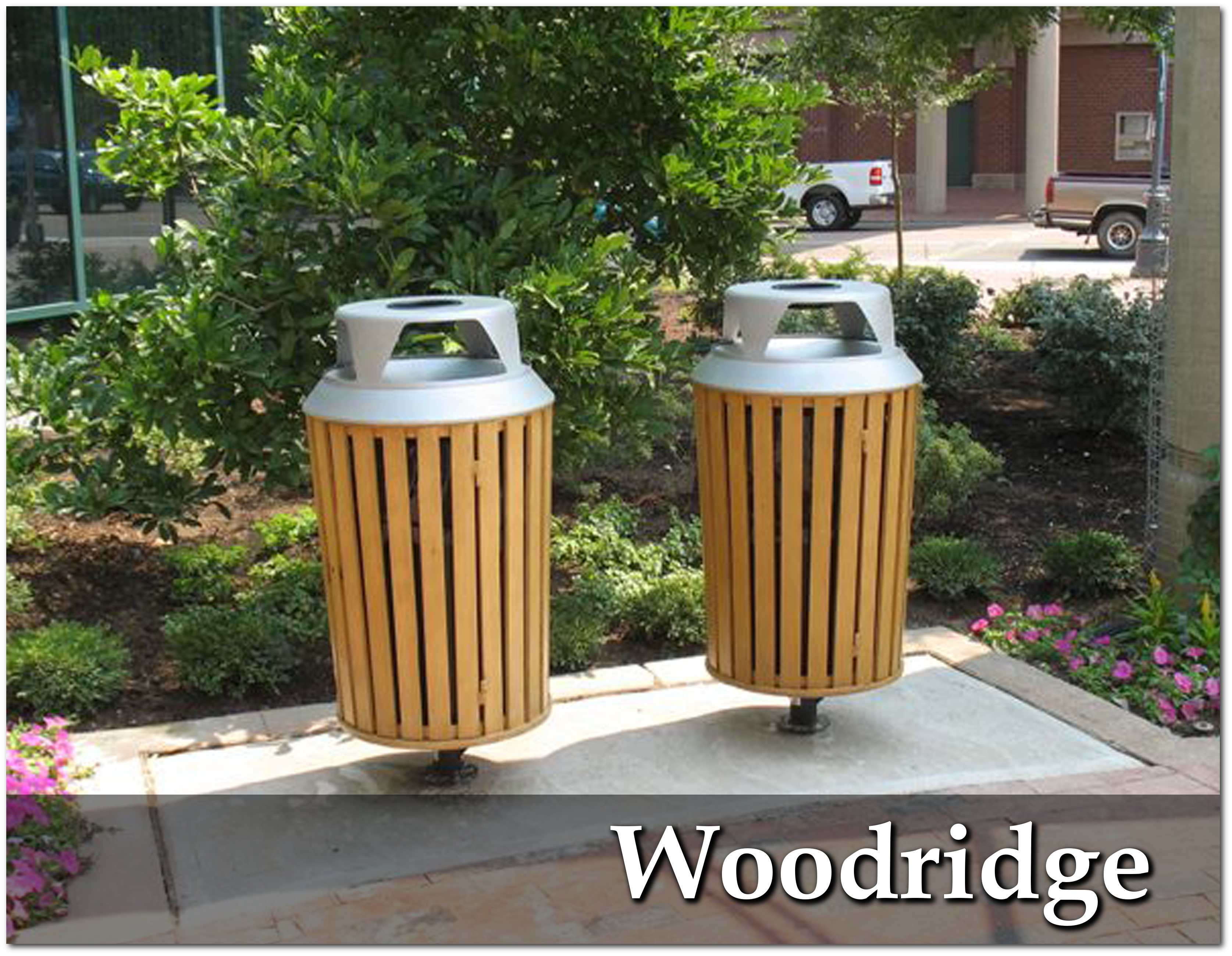 Woodridge Collection Trash Receptacles