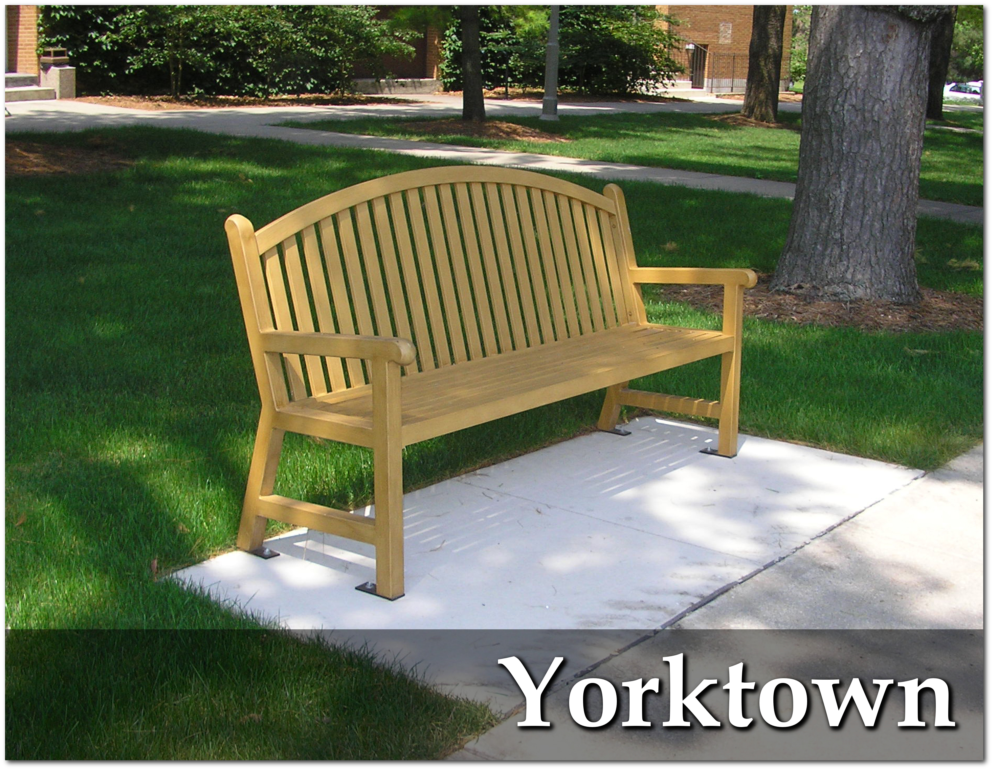 Yorktown Collection Bench
